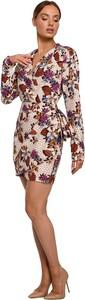 Sukienka MOE z tkaniny mini