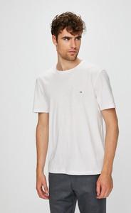 T-shirt Calvin Klein z dzianiny