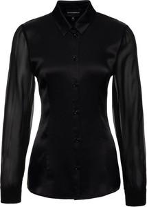 Czarna koszula Emporio Armani w stylu casual