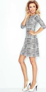 186b92d258 sukienka trapezowa biała - stylowo i modnie z Allani