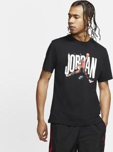 T-shirt Nike w młodzieżowym stylu z nadrukiem z krótkim rękawem