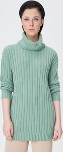 Zielony sweter Sinsay w stylu casual