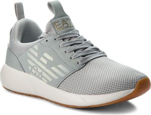 Buty sportowe EA7 Emporio Armani z płaską podeszwą