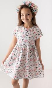Sukienka dziewczęca Myprincess / Lily Grey z tiulu w kwiatki