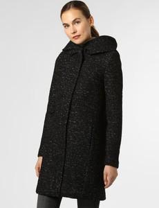 Czarny płaszcz Vila w stylu casual
