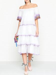 Sukienka Pitusa hiszpanka z tiulu