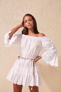 Sukienka Trendyol z długim rękawem mini w stylu casual