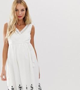 Sukienka Mama Licious z dekoltem w kształcie litery v