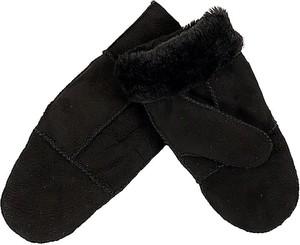 Czarne rękawiczki Kaiser Naturfellprodukte H&l