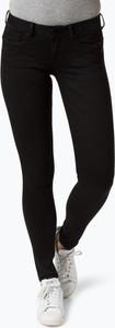 Czarne jeansy Pepe Jeans w stylu casual z bawełny
