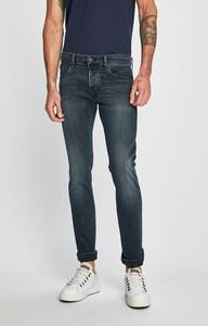 Granatowe jeansy S.Oliver z bawełny