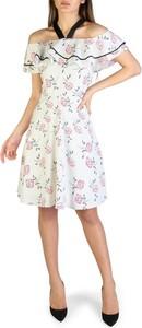 Sukienka Armani Exchange z krótkim rękawem