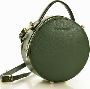 Zielona torebka MAZZINI w stylu casual