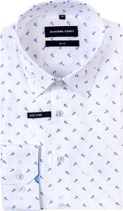 Koszula Giacomo Conti z bawełny z klasycznym kołnierzykiem