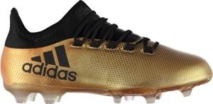 Złote buty sportowe Football