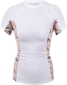Bluzka Maravilla Boutique z okrągłym dekoltem z krótkim rękawem