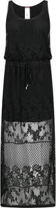 Sukienka Liu Jo Beachwear z okrągłym dekoltem bez rękawów
