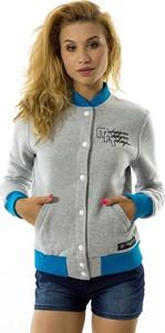 Bluza Melanżowe Akcesoria Tekstylne w młodzieżowym stylu krótka