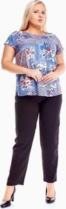 Bluzka Fokus z okrągłym dekoltem