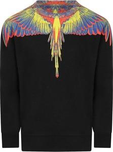 Czarna bluza Marcelo Burlon w młodzieżowym stylu