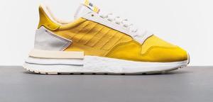 Buty sportowe Adidas Originals z zamszu sznurowane w sportowym stylu