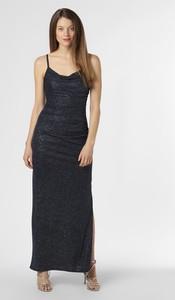 Czarna sukienka Marie Lund na ramiączkach maxi