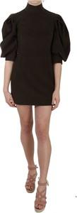 Czarna sukienka Dolce & Gabbana z bawełny
