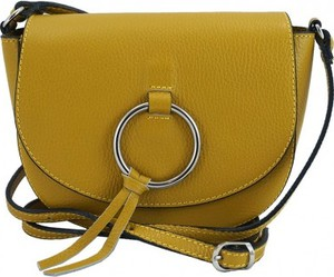 Żółta torebka Barberini`s w młodzieżowym stylu