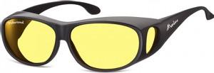 Stylion Żółte Okulary z Polaryzacją HD Fit Over dla Kierowców, na Okulary Korekcyjne FO3I