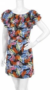 Sukienka Vivo Modo mini z okrągłym dekoltem