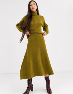 Spódnica Asos z wełny