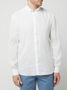 Koszula Esprit z długim rękawem z lnu