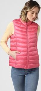 Różowa kamizelka brookshire w stylu casual