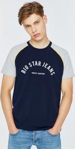 Czarny t-shirt Big Star
