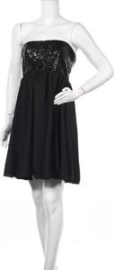 Czarna sukienka CLOCKHOUSE bez rękawów mini