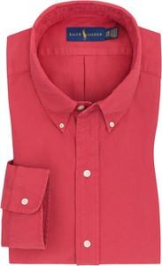 Koszula POLO RALPH LAUREN z bawełny z długim rękawem