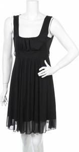 Czarna sukienka My Style rozkloszowana
