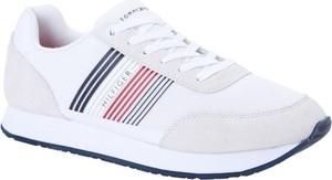Tommy Hilfiger Sneakersy CORPORATE | z dodatkiem skóry
