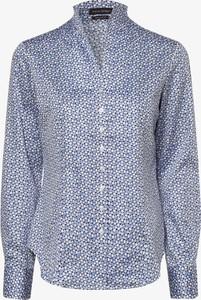 Niebieska koszula Franco Callegari w stylu casual
