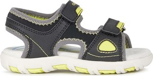 Buty dziecięce letnie Geox dla chłopców ze skóry na rzepy