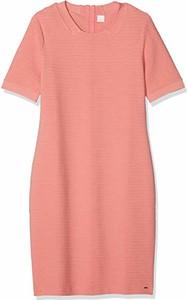 Sukienka amazon.de z krótkim rękawem prosta w stylu casual