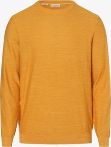 Żółty sweter Selected w stylu casual