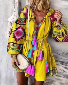 Sukienka Kendallme w stylu boho mini