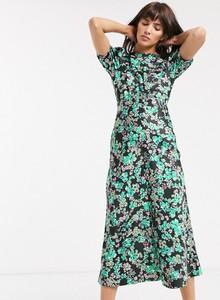 Sukienka Asos Design z krótkim rękawem maxi