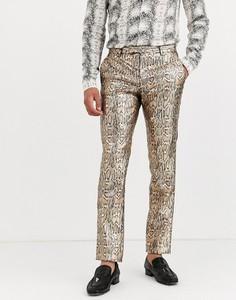 Spodnie Twisted Tailor z nadrukiem