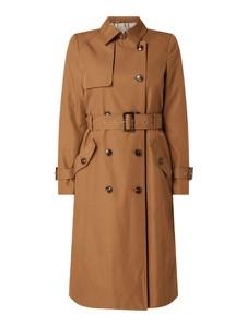Brązowy płaszcz Jake*s Collection z bawełny