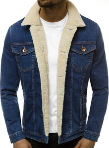 Niebieska kurtka Ozonee w młodzieżowym stylu