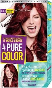 SCHWARZKOPF_#Pure Color farba do włosów w żelu trwale koloryzująca 6.88 Malinowa Czerwień