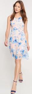 Sukienka QUIOSQUE mini na ramiączkach
