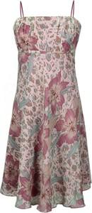 Sukienka Fokus z szyfonu rozkloszowana mini